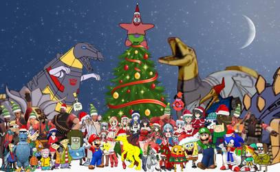 Cartoon Christmas by Artapon
