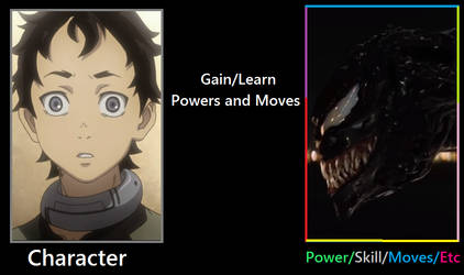 What if Ganta gained the Venom Symbiote by Artapon