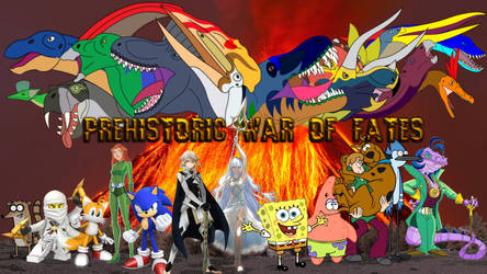 Prehistoric War of Fates by Artapon