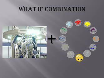 What if Combination Byakushiki+Elemental Talismans by Artapon