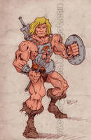 He-Man by victorgrafico