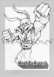 Captain Carrot // Capitan Zanahoria by victorgrafico