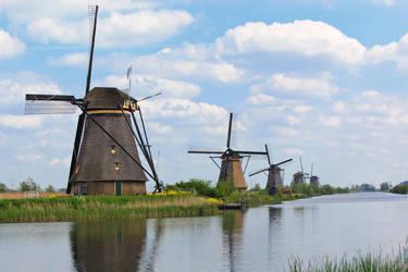 Kinderdijk Netherlands by Gimper43