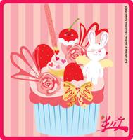 Sweet Lolita Cupcake by LaCatrina