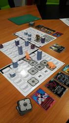 DAIKAIJU BATTLE PATH BOARD GAME by GARAYANN