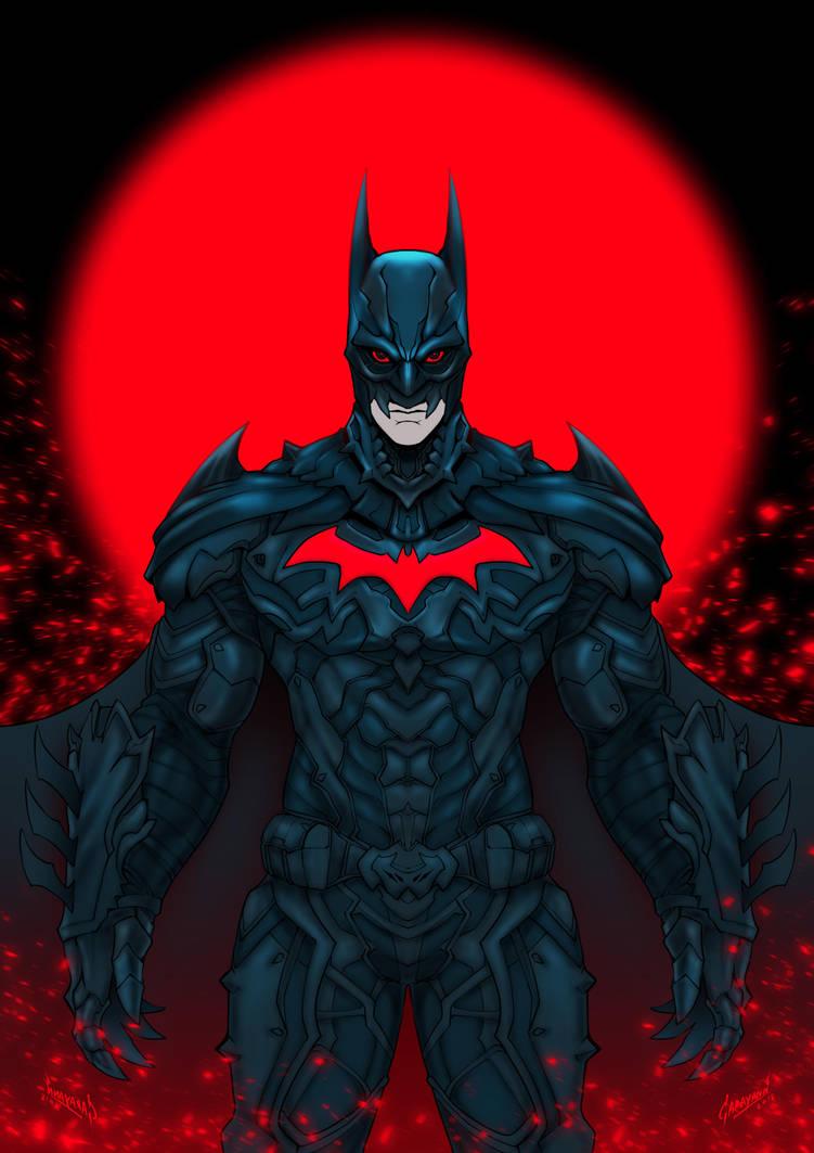 BATMAN NECRO by GARAYANN