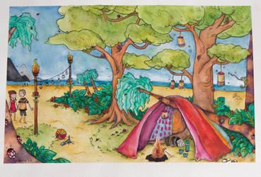 Tropisk telttur by KiraTakuto
