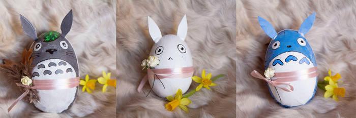 Totoro easter egg by KiraTakuto