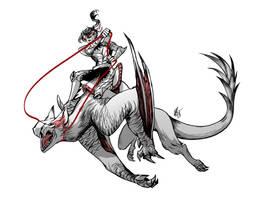 Narga Rider by cypritree