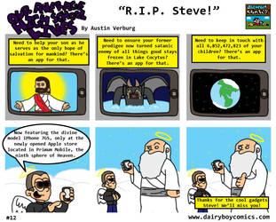 R.I.P. Steve by DairyBoyComics