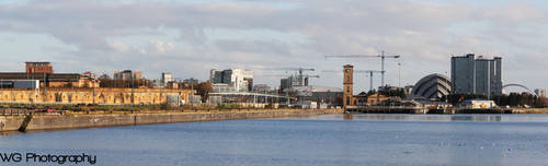 Glasgow Clyde Panorama by Zer0Gfx