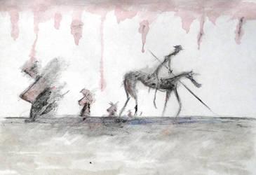 Don Quixote de la mancha by TravisKeaton
