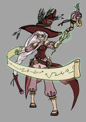 FEZ - Sorceress by ChibiLeen