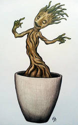 Baby Groot by ChibiLeen