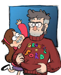 Mabel and Ford by Nenu