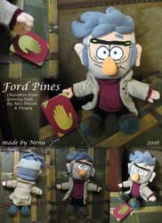Ford Pines plush by Nenu