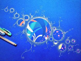Supernova in bubbles by DezignerDude