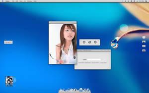 Blue Desk by murasaki55