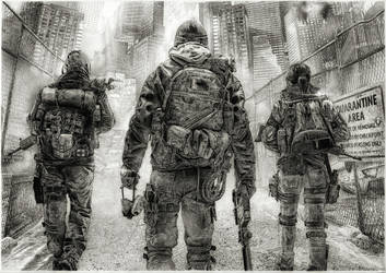tom clancy's the division by gregginho23