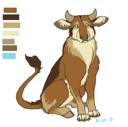 Azerothian Cattle Dog by kryz-flavored