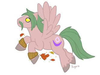 Druid Pony by kryz-flavored