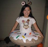 Donutella Tokidoki Hello Kitty by OkashiTi