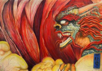 Devoured Dragon by Codefreespirit