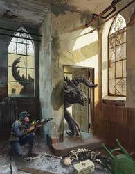 Fallout 4: Hunter and Prey by XGingerWR