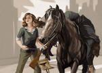 The headhunter (Westworld commission) by XGingerWR