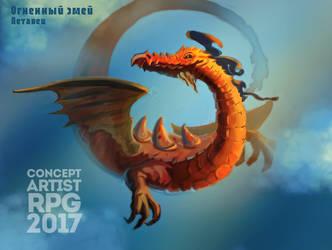 ConceptartistRPG #7: The 'Merman' by XGingerWR