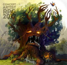 ConceptartistRPG #9: The Kraken by XGingerWR