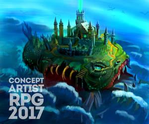 ConceptartistRPG #10: Cursed Island by XGingerWR