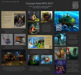 ConceptartistRPG #16: FIN! by XGingerWR