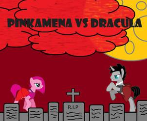 Pinkamena vs Dracula Poster by redreece333