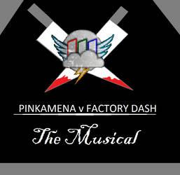 Pinkamena v Factory Dash The Musical by redreece333