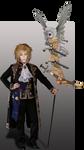 Noel Byron - Dark Heresy RPG by thefuguestate