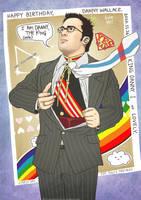 Birthday - Danny Wallace by Kumagorochan