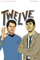 Supernatural+Star Trek - TWELVE by Kumagorochan