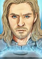 Thor - God of Thunder by Kumagorochan