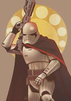 Star Wars - Captain Phasma by Kumagorochan