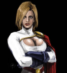 Power Girl by Nia90