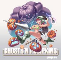 Ghosts'n Pumpkins by peeape