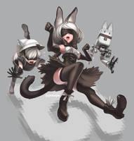 NyaN: Automata by peeape