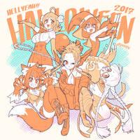 HELLYEAH!! HOLLOWEEN2017 by peeape