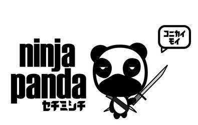 Ninja Panda by deejayhamm