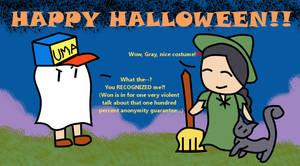 Happy Halloween by TheScarletSky