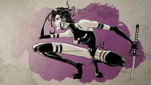 Psylocke by feeesh