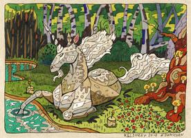 Unicorn-1 by Kelshray