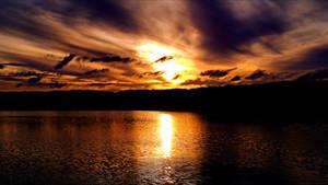 Sunset in Fleetwood by FallenAngel6950