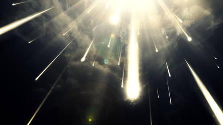 Meteor Shower by txvirus